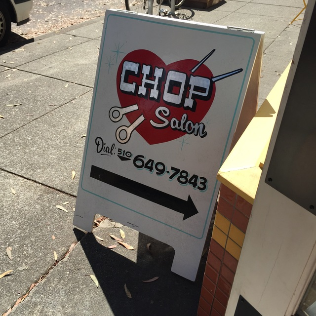 Chop Salon and Spa, Berkeley, CA logo
