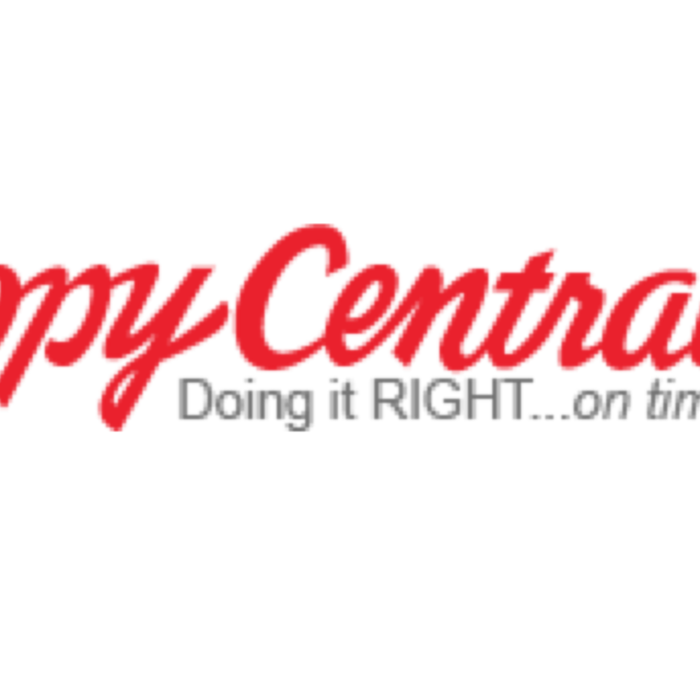 Copy Central, San Francisco, CA logo