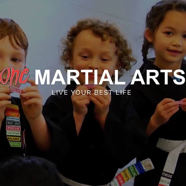 One Martial Arts, Millbrae, CA logo