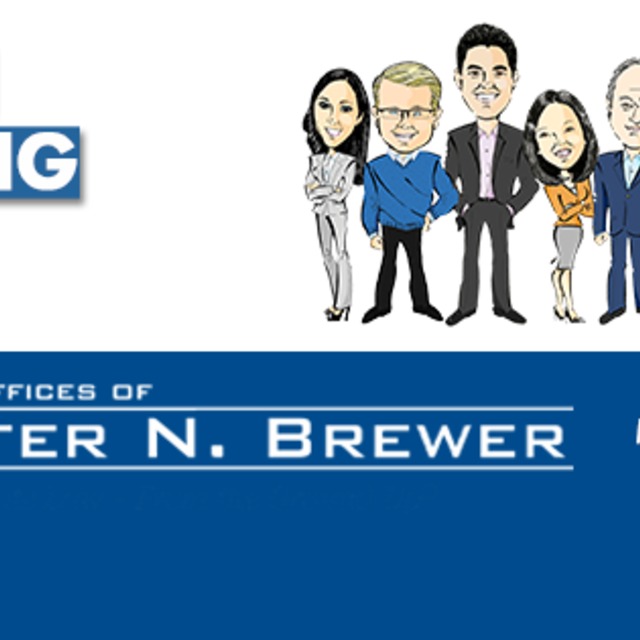 Law Offices of Peter N. Brewer, Palo Alto, CA logo