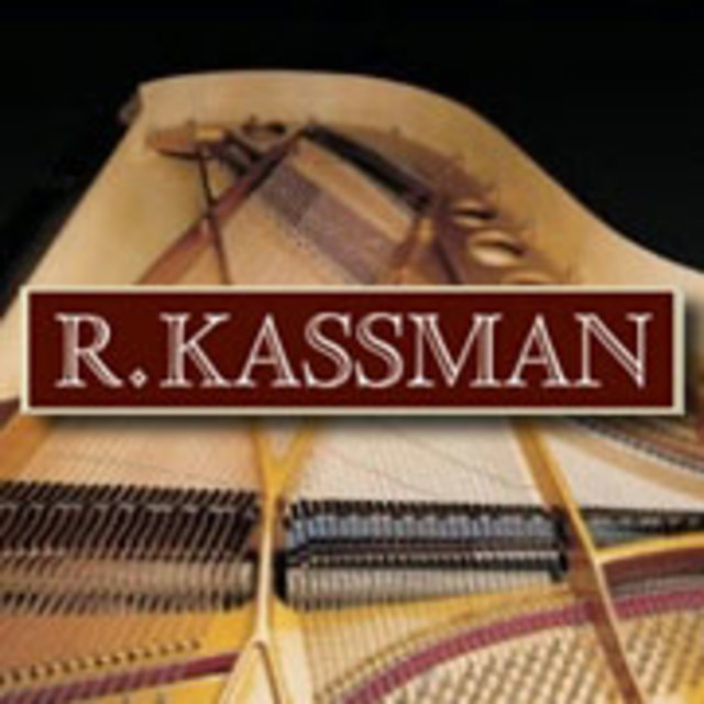 R. KASSMAN, Purveyor of Fine Pianos, Berkeley, CA logo