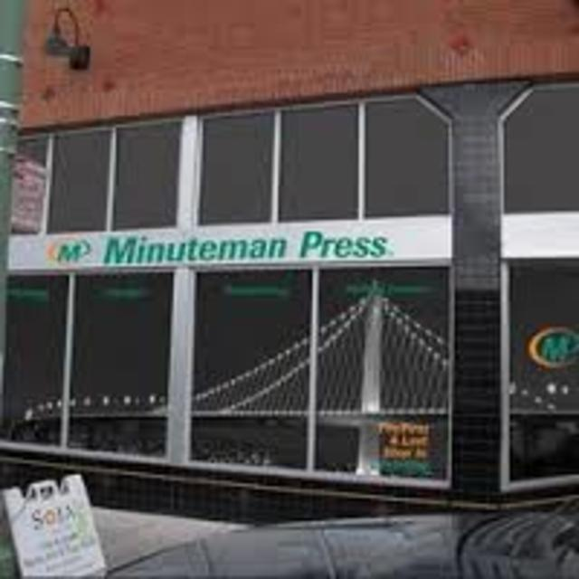 Minuteman Press Oakland, Oakland, CA logo