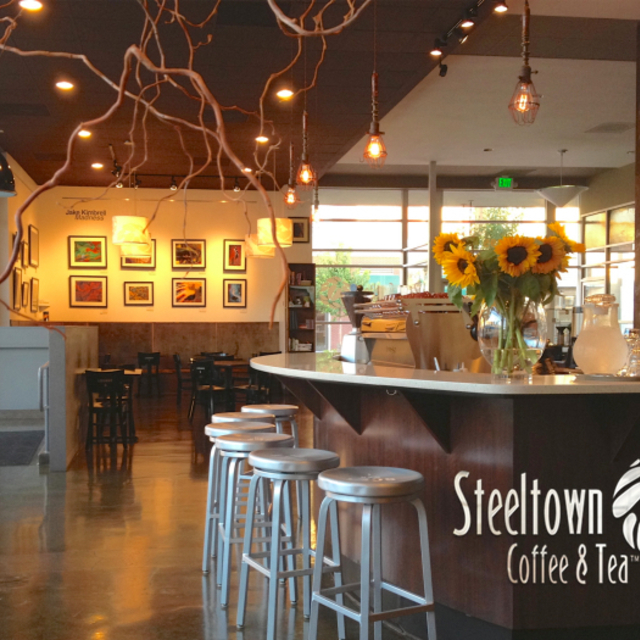 Steeltown Coffee & Tea, Pittsburg, CA logo