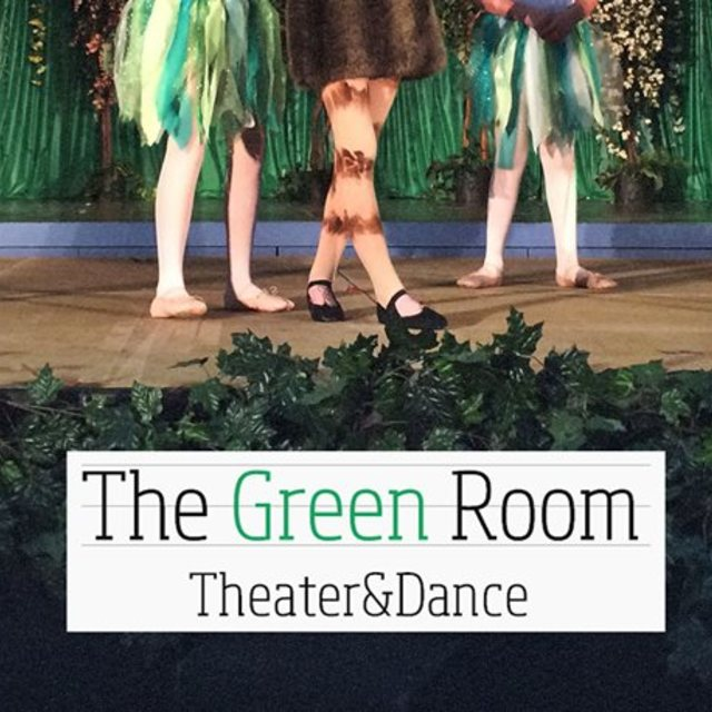The Green Room Theater and Dance, San Mateo, CA logo