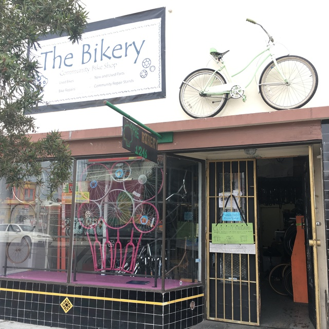 Cycles of Change/The Bikery, Oakland, CA logo