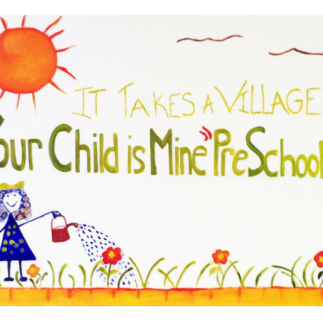 Your Child is Mine Preschool, San Leandro, CA logo