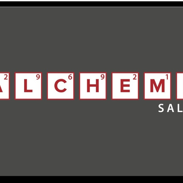 ALCHEME SALON, San Francisco, CA logo