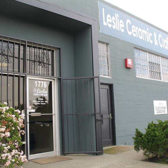Leslie Ceramic and Crafts Supply, Richmond, CA logo