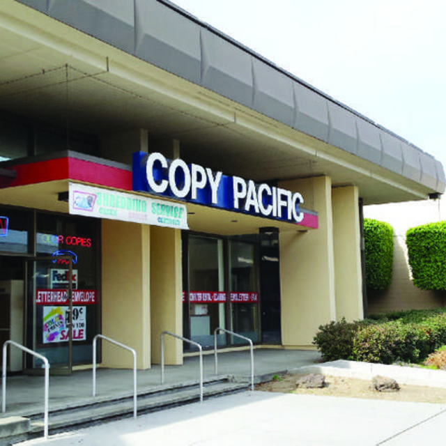 Copy Pacific Inc., Hayward, CA logo
