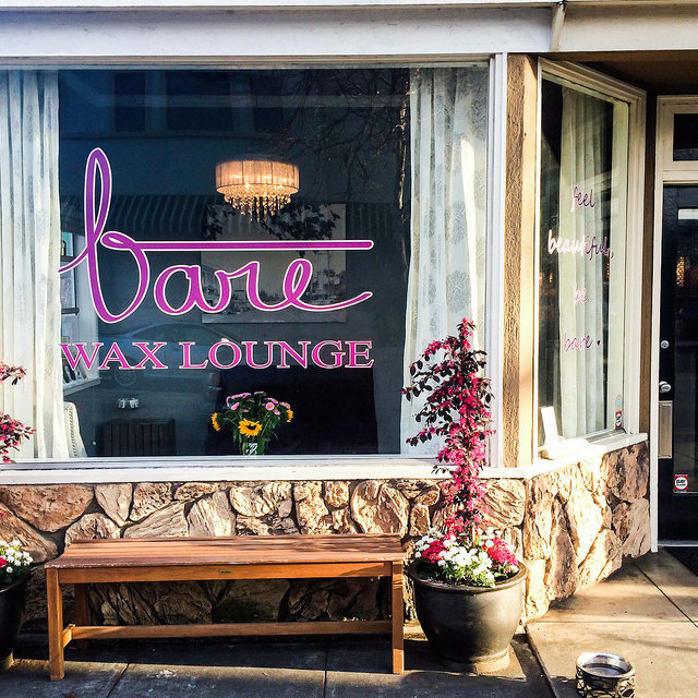 Bare Wax Lounge, Los Gatos, CA logo