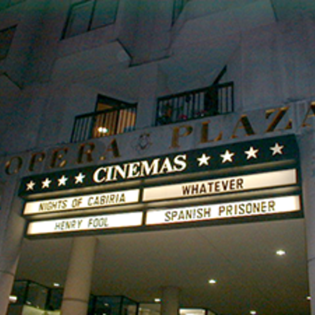 Landmark's Opera Plaza Cinema, San Francisco, CA logo