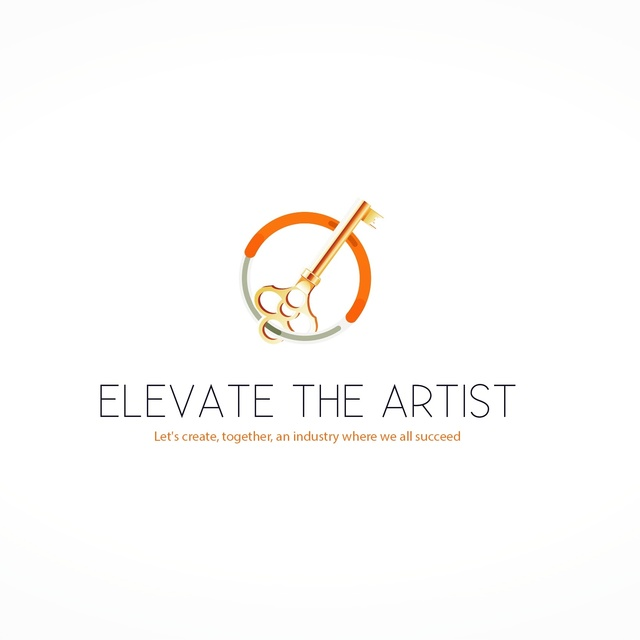 Elevate the Artist, Chapel Hill, NC logo