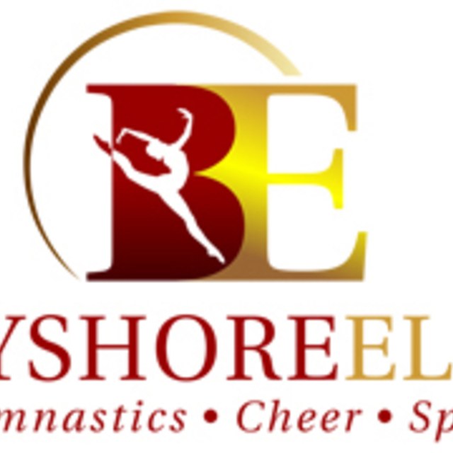 Bayshore Elite Gymnastics, Redwood City, CA logo