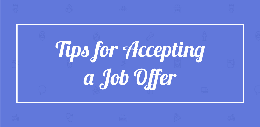 21 Tips For Accepting A Job Offer Localwise
