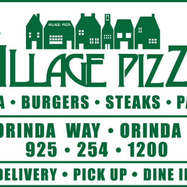 Village Pizza Restaurant, Orinda, CA logo