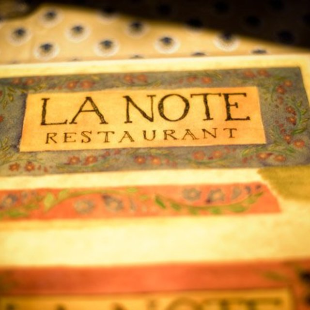 la Note restaurant, berkeley, ca logo