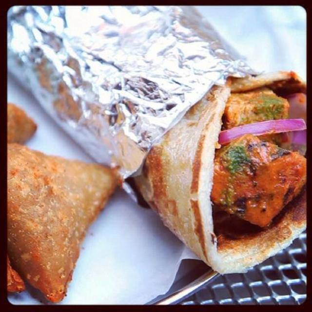Bombay Wraps, Chicago, IL logo