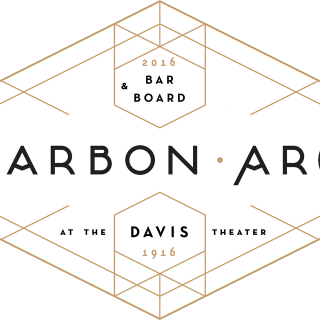 Carbon Arc Bar & Board, Chicago, Illinois logo