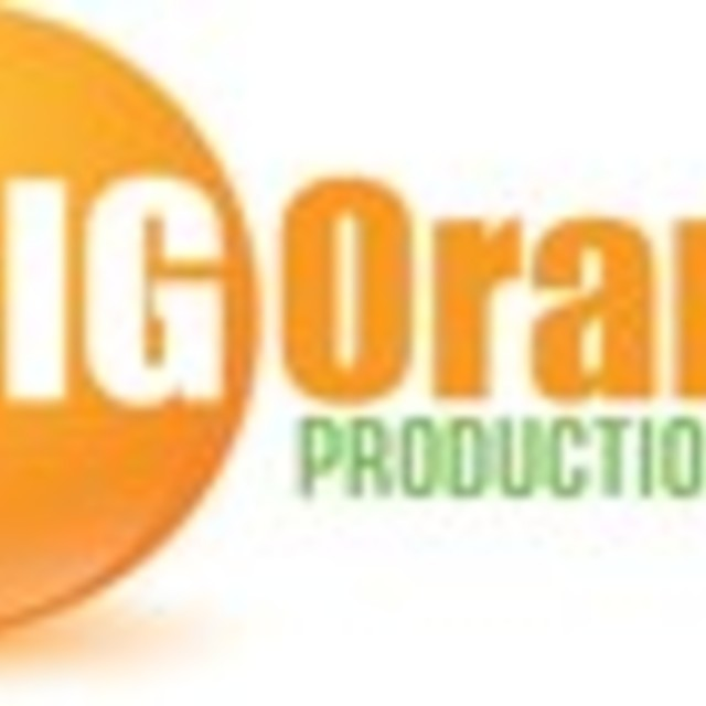 Big Orange Productions, Pawtucket, RI logo