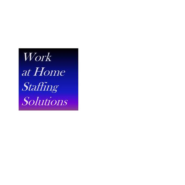 Work at Home Staffing Solutions, Dallas, Tx logo