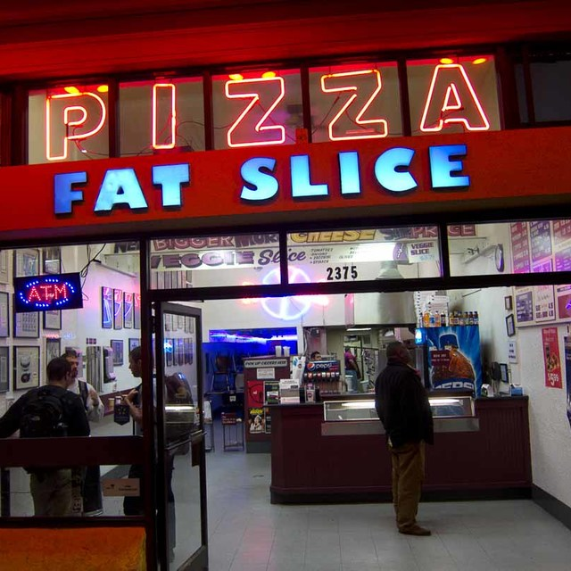 Fat Slice Pizza, Berkeley, CA logo
