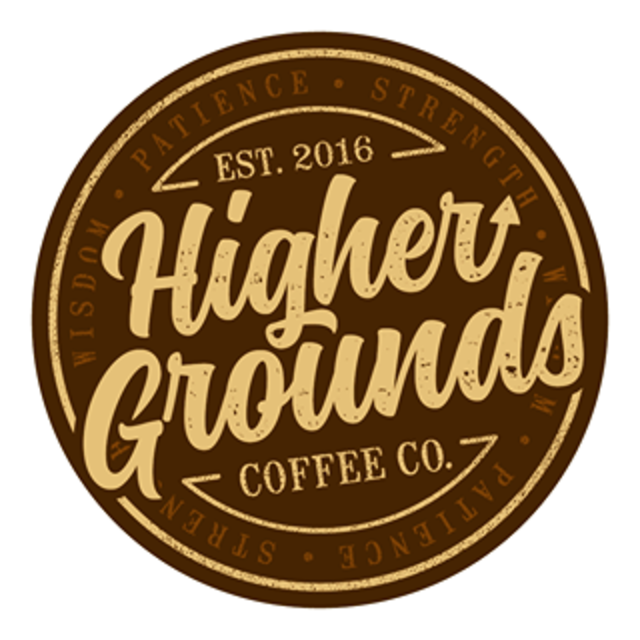 Higher Grounds Coffee Company, Lemont, IL logo