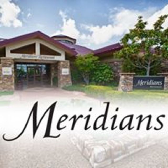 Meridians Restaurant and Sports Bar, Lincoln, CA logo