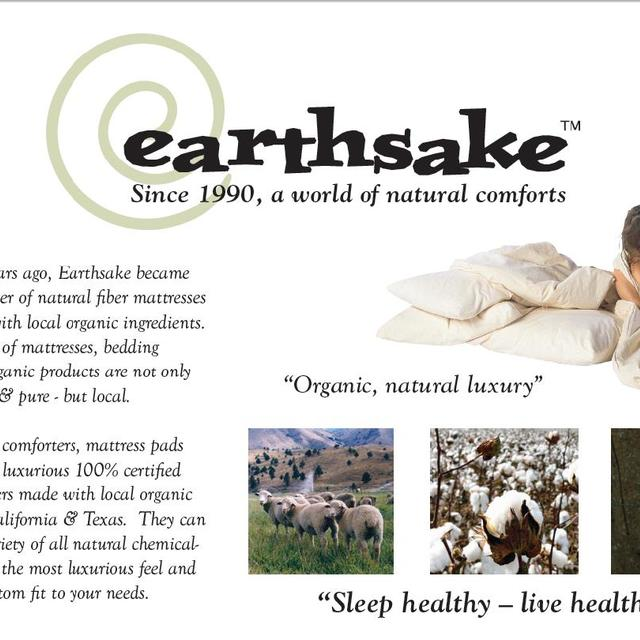 Earthsake, Berkeley, CA logo