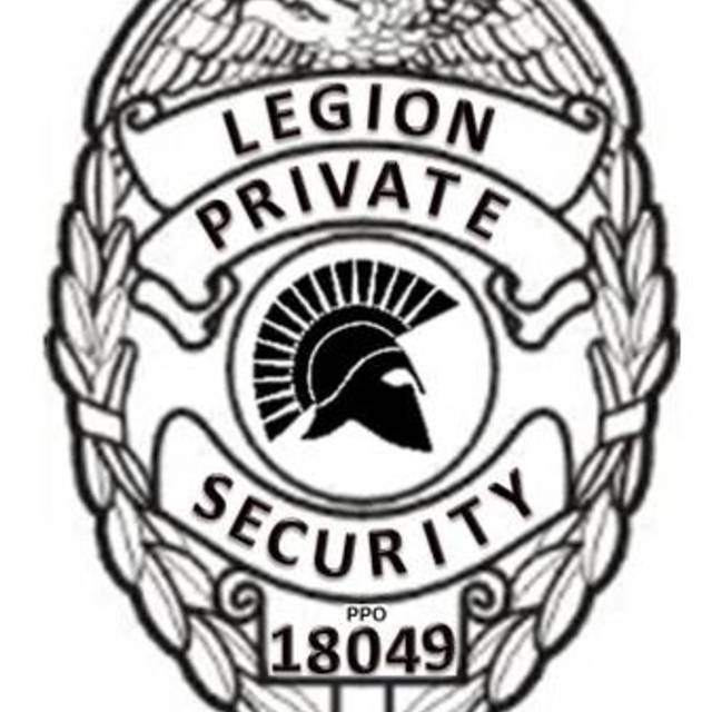 Legion Security, Sacramento, CA logo