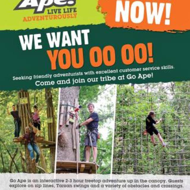 Go Ape USA, Kansas City, MO logo