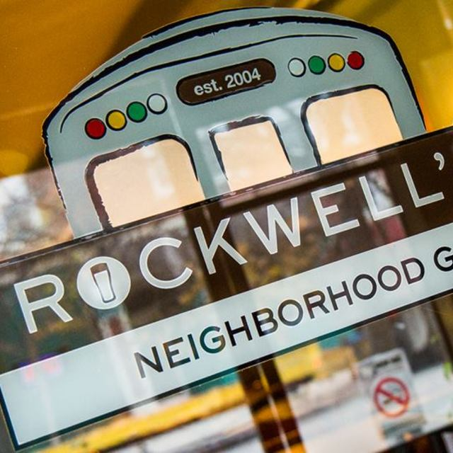 Rockwell's Neighborhood Grill, Chicago, IL logo