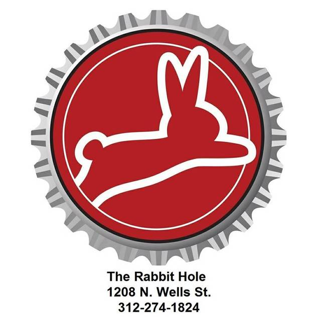 The Rabbit Hole, Chicago, IL logo