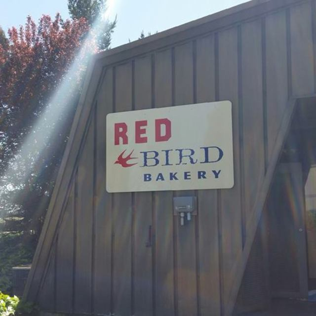 Red Bird Bakery, Santa Rosa, CA logo