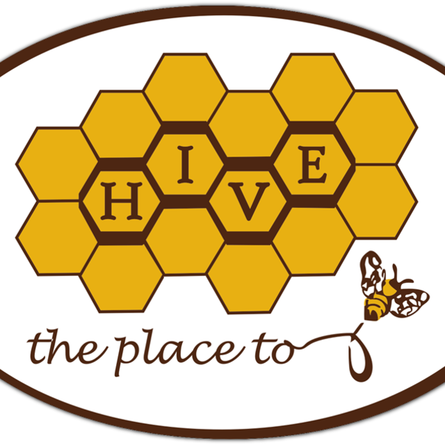 Hive, the place to bee, Oakland, CA logo