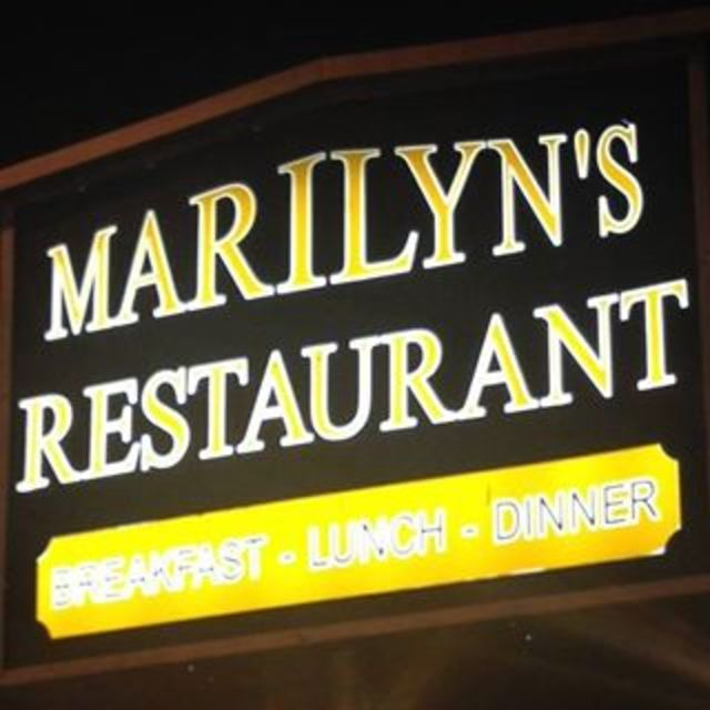 Marilyn's restaurant and pancake House, Morton Grove, IL logo