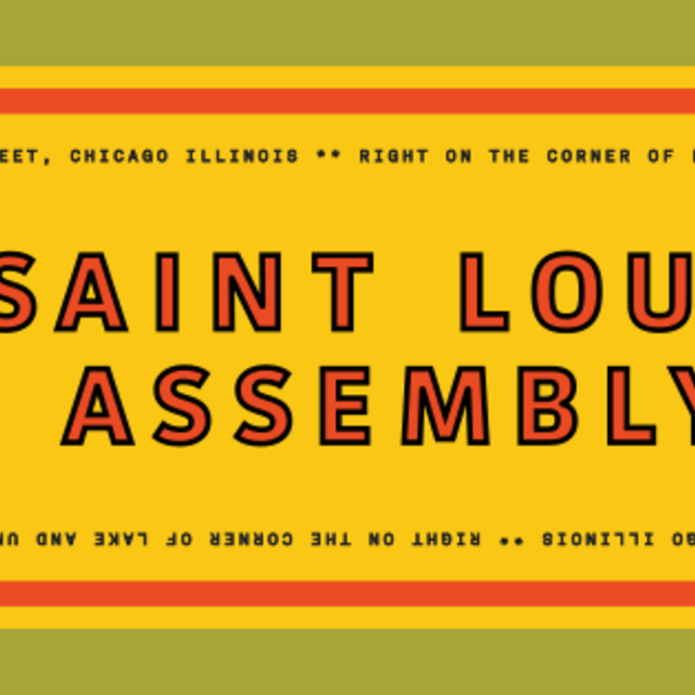 MONEYGUN / Saint Lou's Assembly, Chicago, IL logo