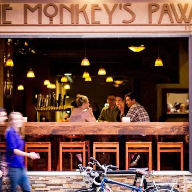 The Monkey's Paw, Chicago, IL logo
