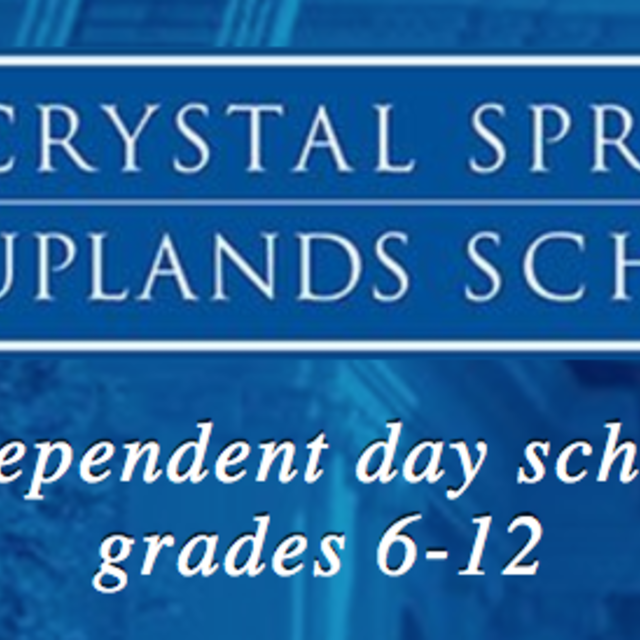 Crystal Springs Uplands School, Hillsborough, CA logo