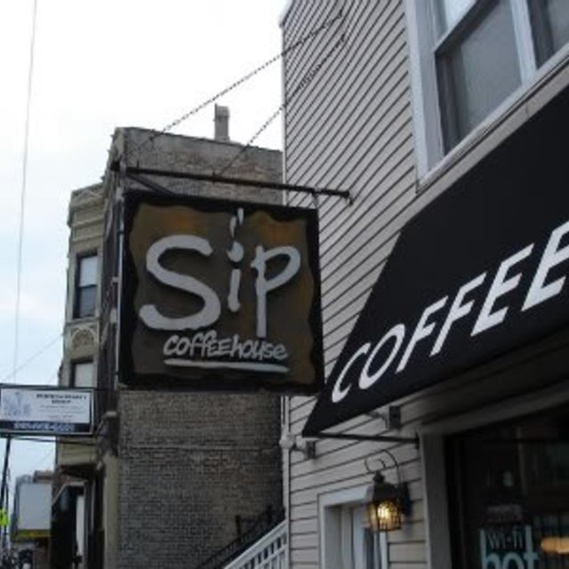 Sip Coffee House, Chicago, IL logo