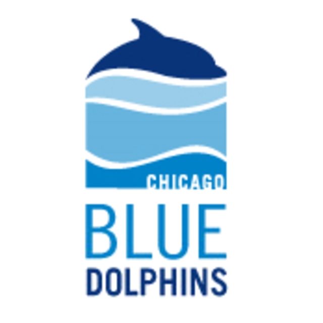 Chicago Blue Dolphins, Chicago, IL logo