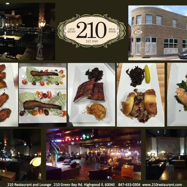 210 Restaurant And Live Music Lounge Highwood Il Loca