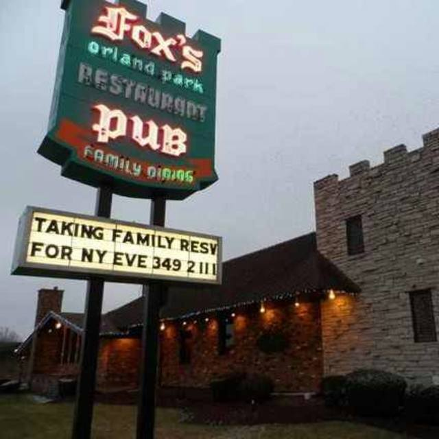 Fox's Orland Park Restaurant, Orland Park, IL - Localwise business profile picture