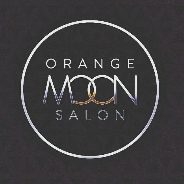 Orange Moon Salon, San Jose, CA logo