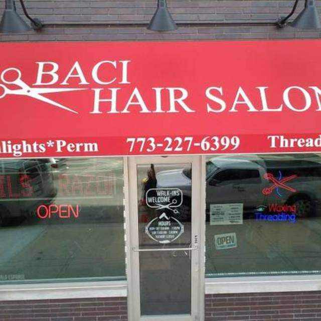 Baci Hair Salon, Oak Park, IL logo
