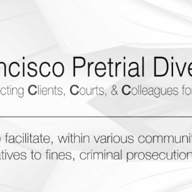 San Francisco Pretrial Diversion Project, San Francisco, CA logo