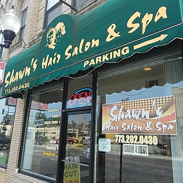 Shawn's Hair Salon & Spa, Chicago, IL logo