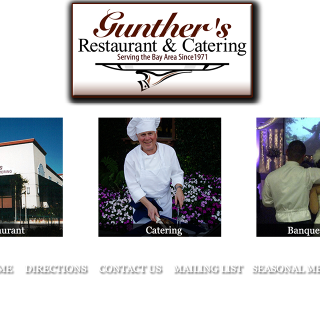 Gunther's Restaurant & Catering, San Jose, CA - Localwise business profile picture