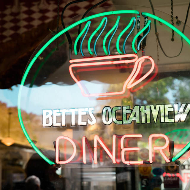 Bette's Ocean View Diner, Berkeley, CA logo