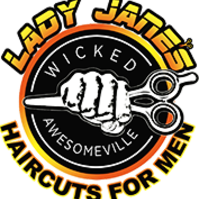 Lady Jane's Haircuts for Men, Naperville, IL logo