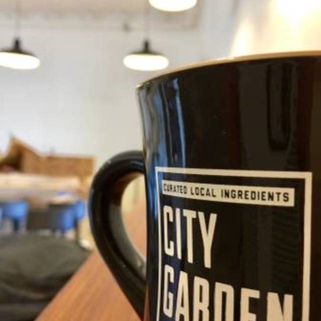 City Garden Doughnuts and Coffee, Santa Rosa, CA logo